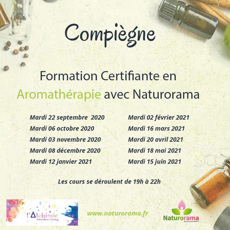 Apprendre l'aromathérapie – Cursus 2020/2021